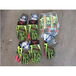 "12 New XL RazorBack ""Rawktech"" Gloves"