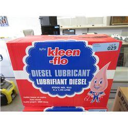 Case of Kleen-Flo Diesel Lubricant