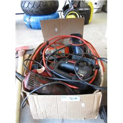 Large Box of Electric Power Tools