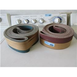 2 Rolls of 10 Sanding Belts