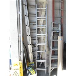 16 Foot Aluminum Extension Ladder