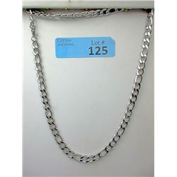 New Stainless Steel Figaro Necklace