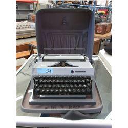 Vintage Commodore Manual Typewriter & Case