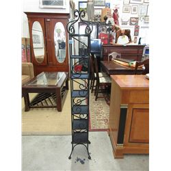Wrought Iron CD/DVD Tower