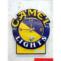 1993 2D Camel Lights Wall Clock