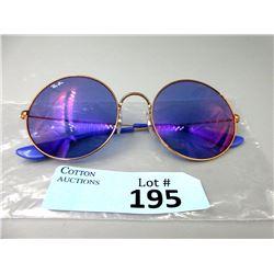 New Ray Ban Blue Tint Sunglasses