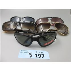 5 Pairs of New Sunglasses  - Most are polarized