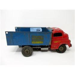 1950s Structo Construction Company Truck