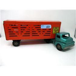 1950's Structo Cattle Farms Inc. Truck & Trailer