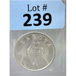 Lakota First Nation.999 Silver 1 Oz Coin