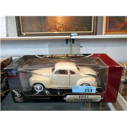 Die Cast 1:18 Scale Model 1941 Plymouth