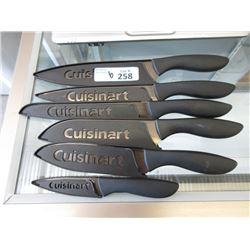6 Cuisinart Kitchen Knives - Store Returns