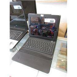 Apple iPad  with keyboard case