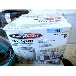 Reddyhot Spot Heater - 15 - 25,000 BTU