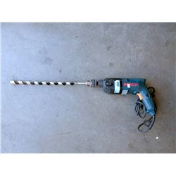 Bosch Drill with Large Bit