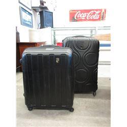 1 Large and 1 Medium Size Rolling Luggage