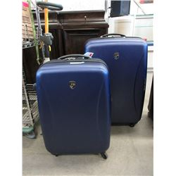 1 Large and 1 Medium Size Rolling Luggage