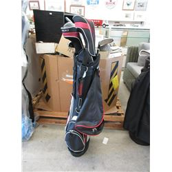 ProSelect Golf Bag with Assorted Clubs