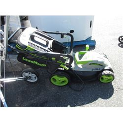 LawnMaster Electric Lawn Mower with Grass Catcher