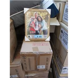 "8 Dozen New 8 x 10"" Oak Picture Frames"