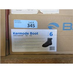 Men's New Bare Kermode Grey Boot - Size 6
