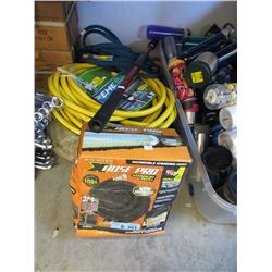 Garden Hoses and Extender Handle - Store Returns