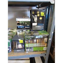 14 Assorted Solar & LED Lights - Store Returns