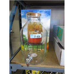 2 Glass Beverage Dispensers - Store Returns