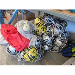 3 Bags of Soccer Balls