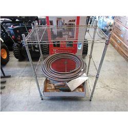 Wire Shelf, Copper Tubing & More