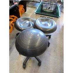 3 Balance Ball Chairs - Store Returns