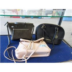 3 Designer Hand Bags - Pre Owned