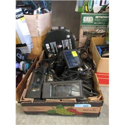 Box of Assorted Lighting Fixtures - Store Returns