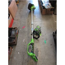 Greenwork Cordless String Trimmer