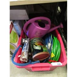 Tote of Garden Goods - Store Returns