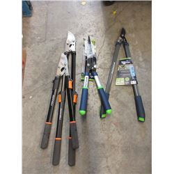 4 Assorted Pruners - Store Returns