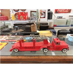 1950s BLFD Buddy L Extension Ladder Fire Truck