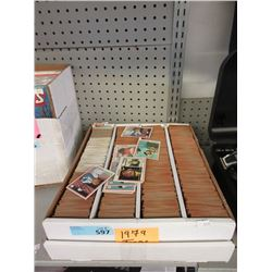 Large Box of 1979 Topps Baseball Cards