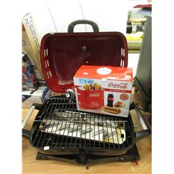 Coca-Cola Hot Dog Toaster & Counter Top Barbecue