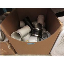 Large Box of PVC Pipe Joints