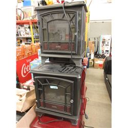 2 Dura Flame Electric Heaters - Store Returns
