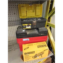 Cut-Out Tool, Roto Zip & Tool Box with Contents