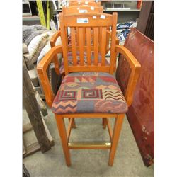"31"" Wood Bar Stool"