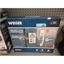 Weiser Smartkey Lock & Handle Set