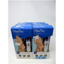 6 New Spa Relaxus Mani Pure Nail Care Systems