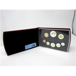 2005 Proof Set of Canadian Fine Silver & Sterling Coins