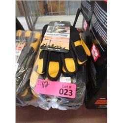 12 New Medium Size Work Armour Gloves