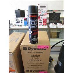 Case of Dynatex Brake Parts Cleaner
