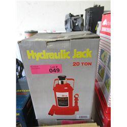 New 20 Ton Hydraulic Bottle Jack