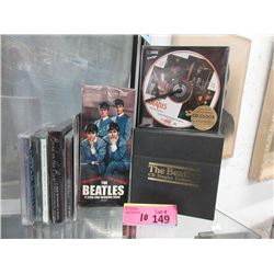 """8 Pc. Lot of New """"The Beatles"""" DVD's, CD's & more"""